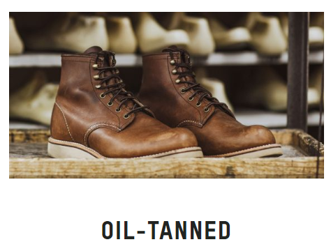 油鞣革  OIL-TANNED LEATHER