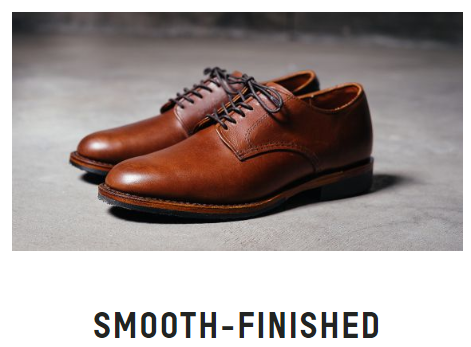 油蠟革 Smooth-finished leather
